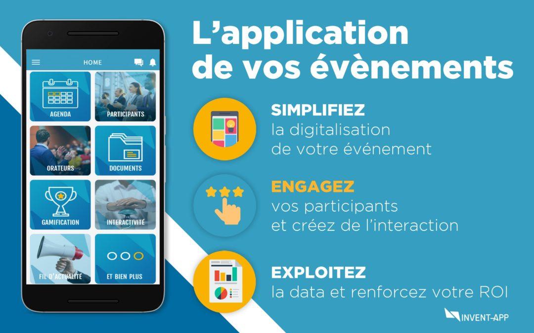 Invent App application de vos evenements